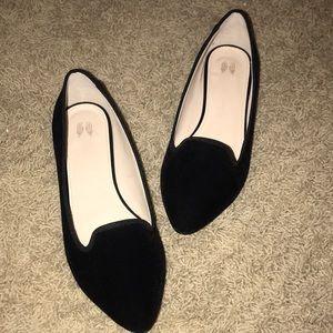 Velvet Flats Size 7.5